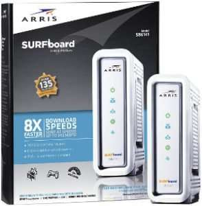 ARRIS SURFboard SB6141 DOCSIS 3.0 Midco Approved Modems