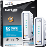 ARRIS SURFboard SB6141 Cable Modem White Package