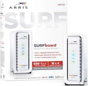 ARRIS SURFboard SB6183 DOCSIS 3.0 Armstrong Approved Modems