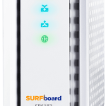 ARRIS SURFboard SB6183 Cable Modem Side View