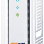 ARRIS SURFboard SB6190 Cable Modem Side View