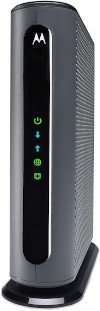 Motorola MB7621 Cable Modem Side View