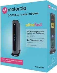 Motorola MB8611 DOCSIS 3.1 Suddenlink Approved Modems
