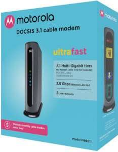 Motorola MB8611 DOCSIS 3.1 WOW Approved Modems