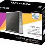 NETGEAR C7100V Voice WiFi Cable Modem Package