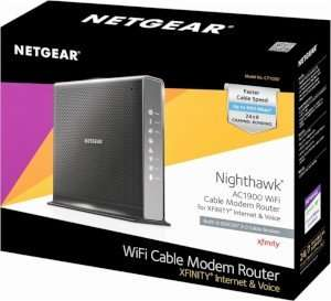 NETGEAR C7100V Voice WiFi Router DOCSIS 3.0 Comcast XFINITY Approved Modems