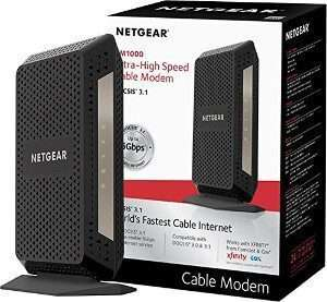 NETGEAR CM1000 DOCSIS 3.1 Wave Approved Modems