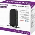 NETGEAR CM400 Cable Modem Package