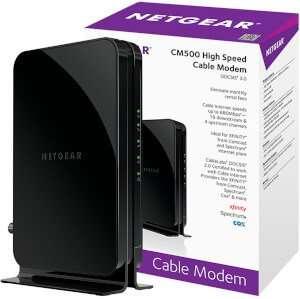NETGEAR CM500 DOCSIS 3.0 Optimum Approved Modems