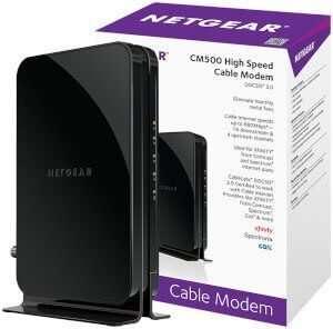 NETGEAR CM500 DOCSIS 3.0 Suddenlink Approved Modems