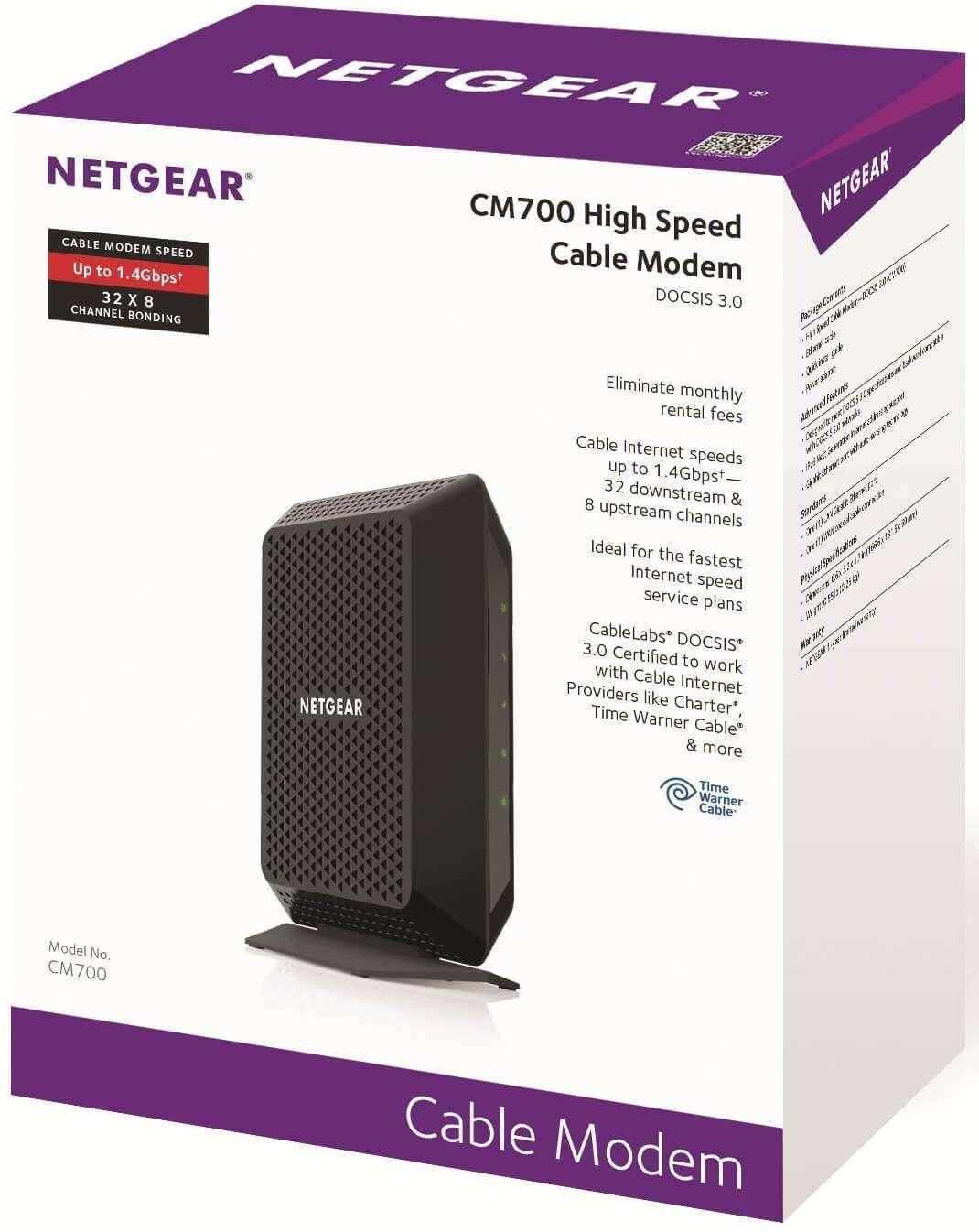 Netgear Cm700 Package Modem Approvedmodemlist Com