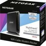 NETGEAR Nighthawk C7000 WiFi Cable Modem Package